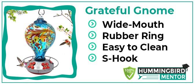 Grateful Gnome feeder