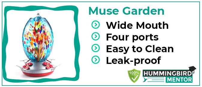 Muse Garden feeder