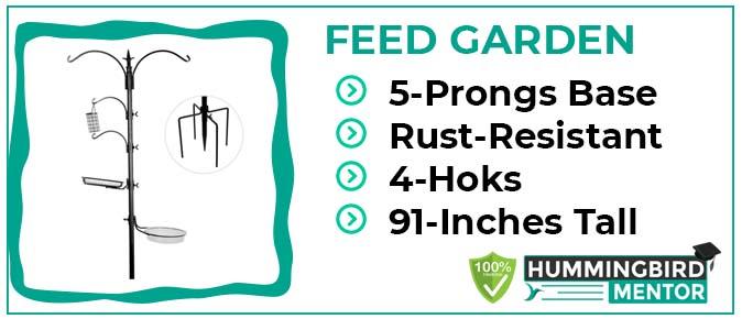 FEED GARDAN pole